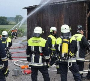 Allgemeine Übung Nr. 07 - 2. Gemeinschaftübung mit Hög @ Feuerwehrgerätehaus | Rohrbach | Bayern | Deutschland
